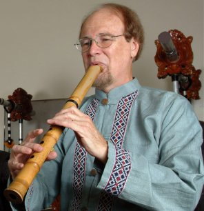 Dale Olsen Playing the Shakuhachi