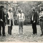 Sattva: L-R: Stuart. Phil, Peter, Min, Rich